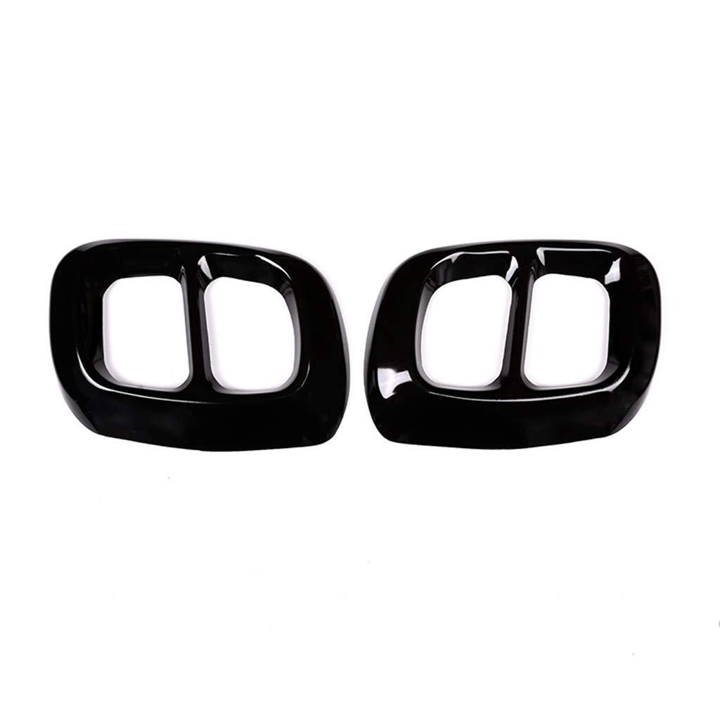 Copertura in acciaio inox 304 per uscita di scarico auto Rifinitura nera lucida per Classe GLA X156 2016-2019