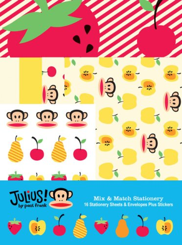 Paul Frank: Julius!: Mix and Match (Match Stationery Books)
