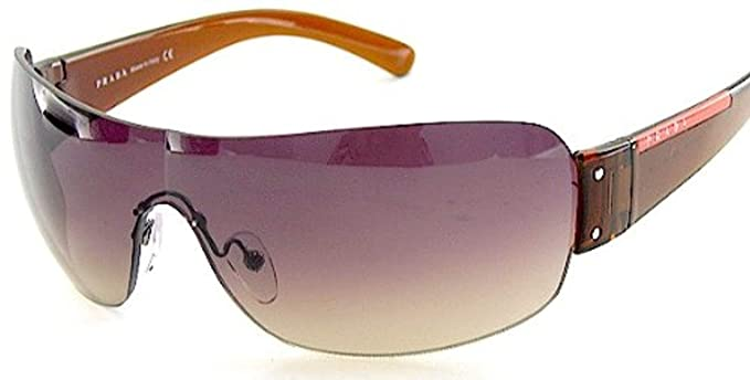 c79f4b11055a Prada Sport Sunglasses Sps 07F 4An-6S1 Brown   Brown Gradient  Amazon.co.uk   Clothing