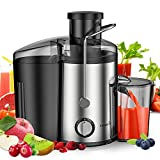 Easehold 600W Juicer Dual Speed Vegetable Juice Extractor with Juice Jug and Pulp
