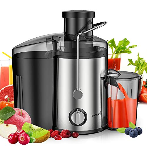 Lowest Price! Easehold Juicer Machines Extractor 600W Centrifugal Juicers Electric Anti-Drip Dual Sp...
