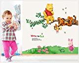 Jaamso Royals 'Winnie The Pooh Home Decor Cartoon ' Wall Sticker (Vinyl, 51 cm x 5.1 cm x 5.1 cm)
