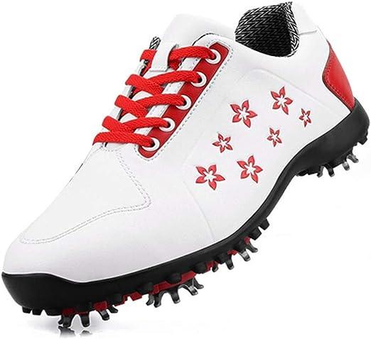 HJJGRASS Zapatillas de Golf para Mujer PGM/Zapatillas ...