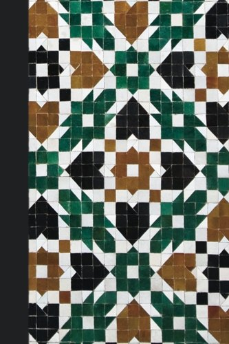 Mosaic Scrapbooking Paper - Journal: Moroccan Tile 6x9 - GRAPH JOURNAL - Journal with graph paper pages, square grid pattern (Patterns and Designs Graph Journal Series)