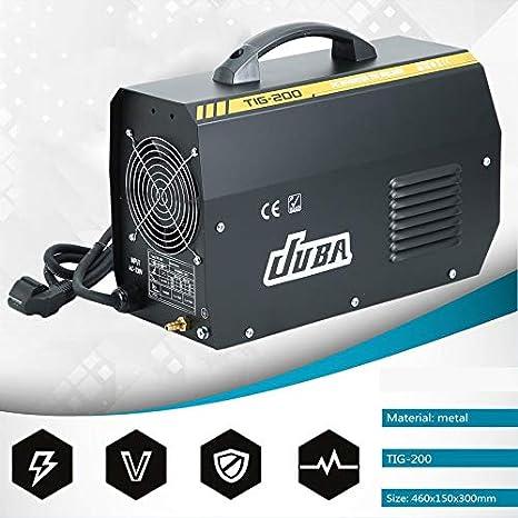 Yogasada Máquina Ligera de la sobretensión del inversor TIG Soldador TIG Soldador TIG/Arco/palillo de Soldadura TIG: Amazon.es: Hogar