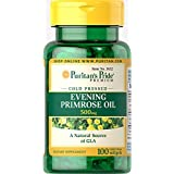 Puritan's Pride Evening Primrose Oil 500 mg with GLA-100 Softgels