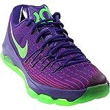 nike KD 8 mens basketball trainers 749375 sneakers shoes (UK 8.5 us 9.5 EU 43, court purple green strike vivid purple strike 535)