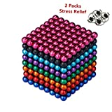 RLRY Magnetic Sculpture Balls Intellectual Office Toys Anxiety Stress Relief Killing Time Puzzle Creative Educational Toys for Kids Adults 04