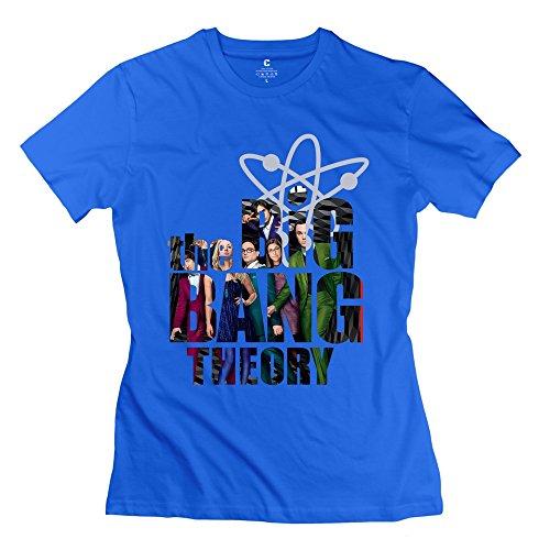 OKAYtshirt.com-4196-New Style The Big Bang TBBT Series Theory Women\'s T Shirt DeepHeather-B014M30MRQ-T Shirt Design
