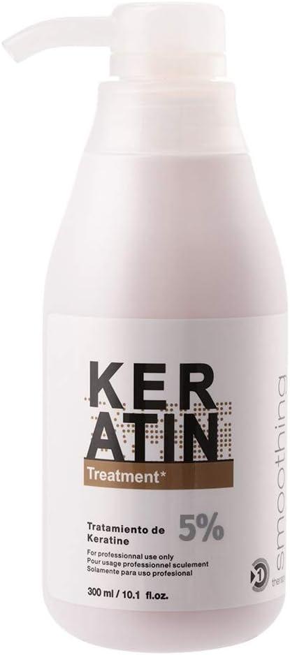 Acondicionador,300 ml Mascarilla pelo de keratina con keratina y proteínas para cabello seco, dañado y tratado químicamente tratamiento de queratina brasileña
