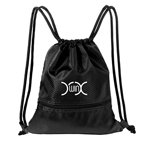 YXwin Drawstring Bag Sackpack Waterproof Sport Gym Sack for Shoes Basketball School – DiZiSports Store