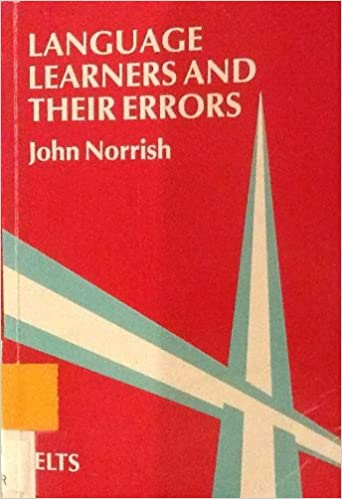 language learners and their errors by john norrish