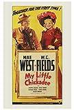 My Little Chickadee Poster 27x40 W.C. Fields Mae West Joseph Calleia