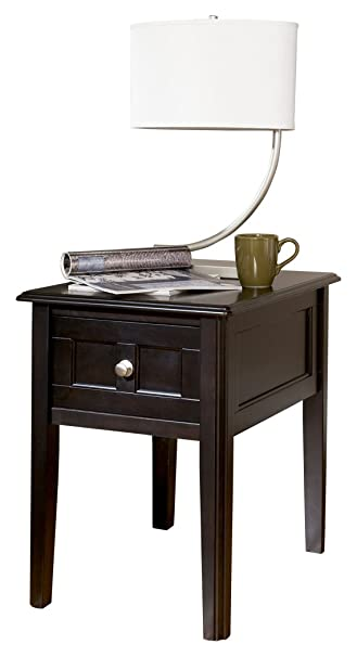 Ashley Furniture Signature Design   Henning Chair Side End Table   1 Drawer    Contemporary