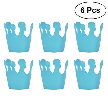 Coronas de cumpleaños, 6 piezas de decoración de fiesta de ...