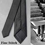 Casual Solid Mens Necktie for Office Business