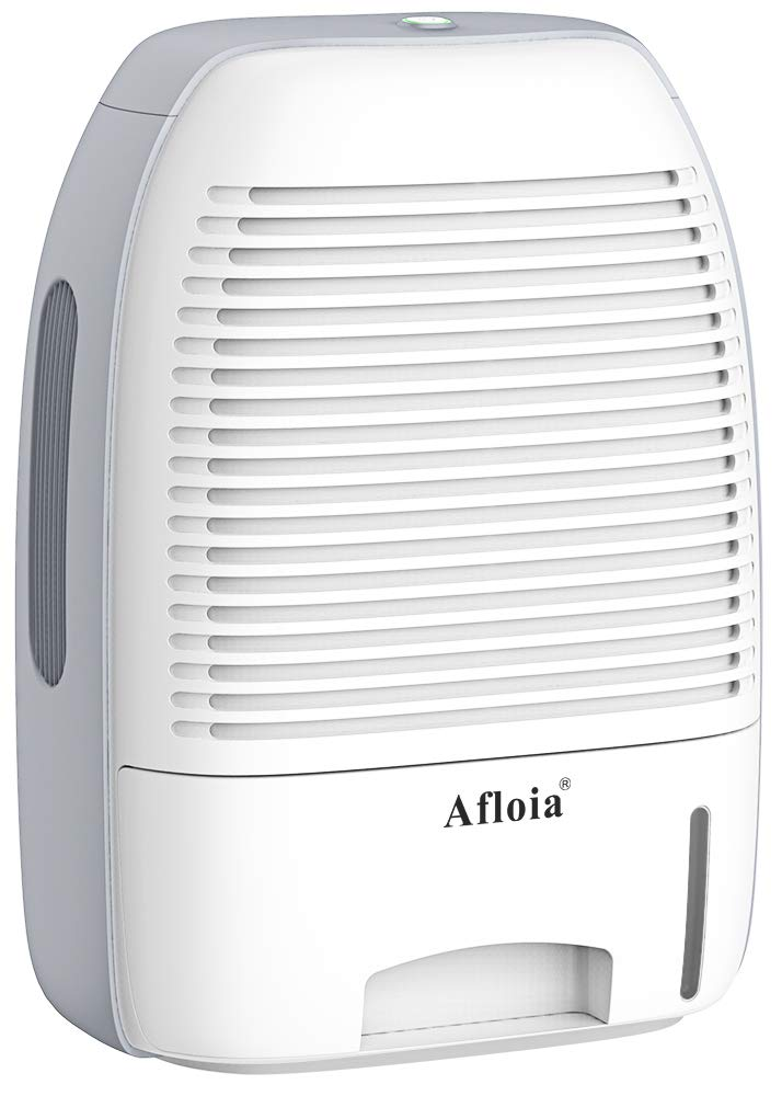 Afloia Dehumidifier for Home,Electric Dehumidifier 52oz Capacity Deshumidificador Quiet Room Dehumidifier Portable Dehumidifiers for Home Bathroom Bedroom Dorm Room Baby Room RV Crawl Space by Afloia