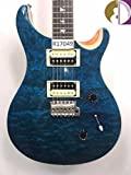 Paul Reed Smith SE Custom 24 Burled Ash Matteo Blue