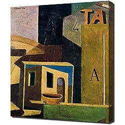 Carlo Carra - 8 - Canvas Art Print Reproduction