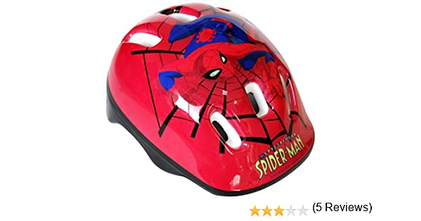 The Spectacular Spider-Man - Casco de bicicleta (Saica Toys 7550): Amazon.es: Juguetes y juegos