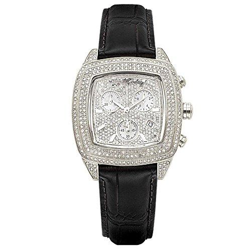 Joe Rodeo Diamond Ladies Watch - CHELSEA silver 5 ctw