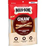 Milk-Bone GnawBones Chicken Sticks, Rawhide-Free, 3.6 Ounces (Pack of 4)