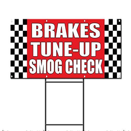 Brakes / Tune-Up/Smog Check Auto Body Shop Car Plastic Yard (Auto Brake Tune)
