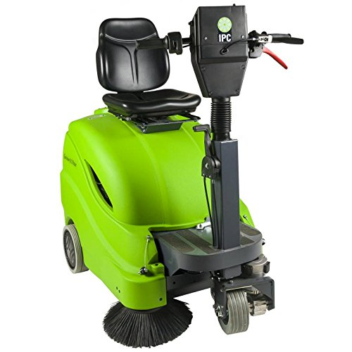 "IPC Eagle: 28"" Rider Battery Sweeper With On Board Charger-512R"
