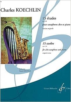15 ??tudes Opus 188 by Koechlin Charles (2000-01-01)