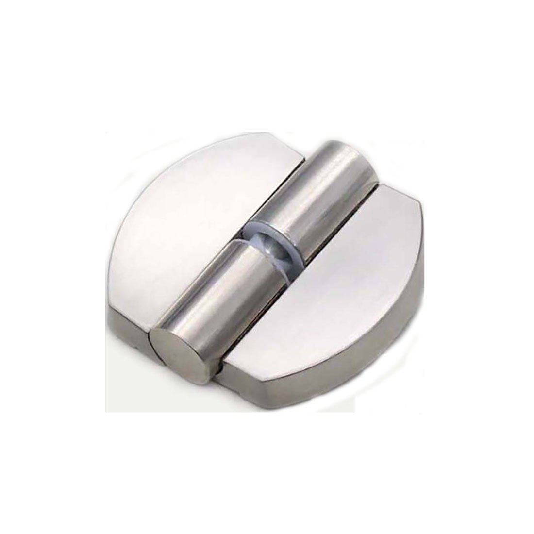 Flyshop Toilet Stainless Steel Lift Off Hinge Right Handedness Silver Oval Shape by Flyshop