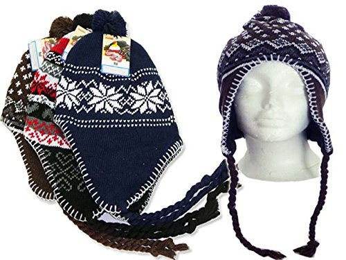 HAT WINTER MEN LARGE ASST COLOR 24X32CM, Case of 288 by DollarItemDirect