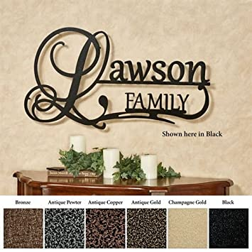amazon affinity family personalized metal wall art sign family