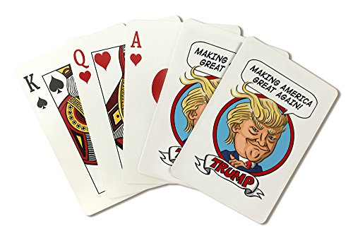 Election Card (Presidential Election 2016 - Donald Trump (Playing Card Deck - 52 Card Poker Size with Jokers))