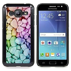 "For Samsung Galaxy J2 / J200 , S-type Naturaleza Hermosa Forrest Verde 134"" - Arte & diseño plástico duro Fundas Cover Cubre Hard Case Cover"