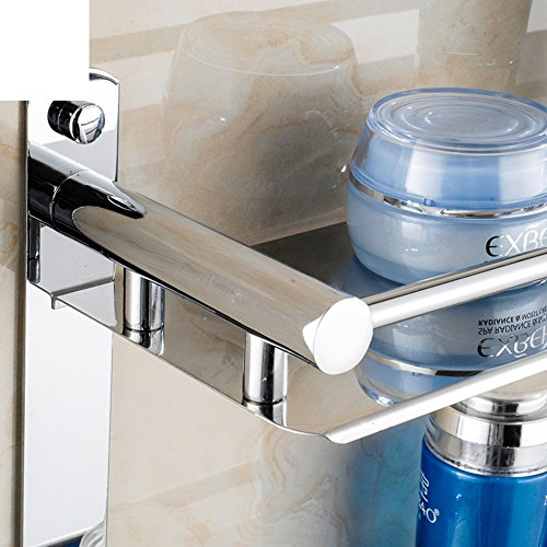 Stainless steel bathroom shelf bathroom accessories the bathroom tray shower gel bottle for Stainless steel bathroom shower shelves