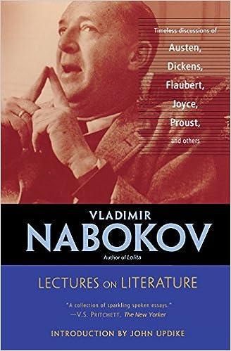 Amazon.com: Lectures on Literature (9780156027755): Vladimir Nabokov ...