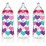Best The First Years Toddler Utensils - NUK 14073 Hearts Baby Bottle with Perfect Fit Review