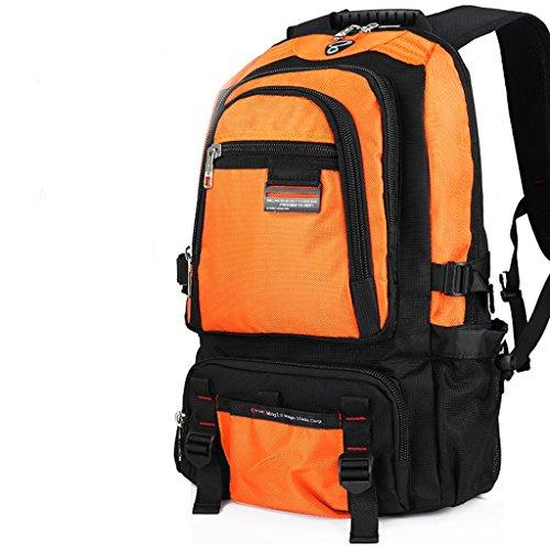 AMOS Mochila para hombre de gran capacidad para mochila para mujer Naranja