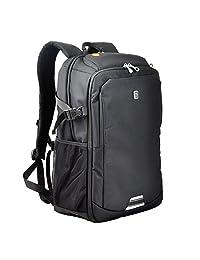 Koolerpek Waterproof Business Backpack for Laptop Up to 17 inch Black