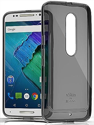 Moto X Pure Edition Case, VENA [vSkin CL] slim Protection [1.0mm Thin] TPU Case Cover for Motorola Moto X Pure Edition (2015) - (Motorola X Clear Cover)