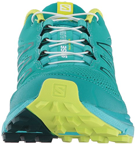 Sense Deep W Salomon Peacock Shoes Lime Blue Punch Blue Marin Trail Women's Running Ceramic 5S88qwZgHx