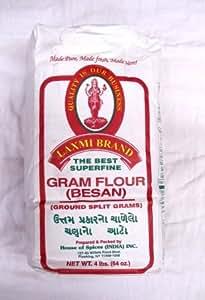 Amazon.com : Laxmi Brand - Gram Flour (Besan) - 10 lbs