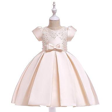 Vestido Fiesta Niña Vestido De Princesa con Encajes Sin ...