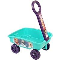 IndusBay My 1st Pull Along Toy Wagon Disney Frozen Theme Toy Storage cart for Kids