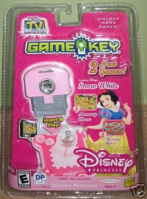 Disney Princess Snow White Plug it in & Play TV Games GameKey, 2 Games, ()
