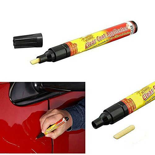 Car Scratch Repair Remover Filler & Sealer Painting Pen Clear Car Coat Applicator for All Cars, Not for Deep Scratch (Clear Scratches Coat)