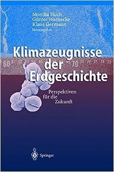 Klimazeugnisse der Erdgeschichte.