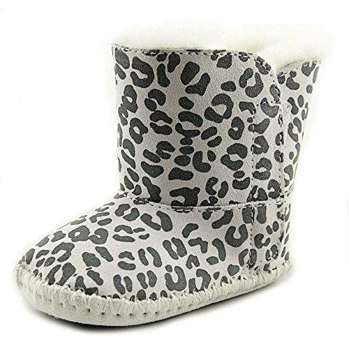 UGG Baby Cassie Leopard Boots, Snow Leopard, 2/3