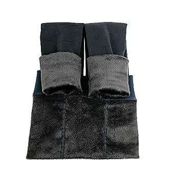 La Dearchuu Winter Leggings Womens Warm Fleece Lined Leggings Soft Stretchy Leggings Thick Thermal Leggings for Women Blue