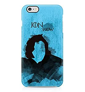 Game Of Thrones Jon Snow Hard Plastic Phone Case Cover Shell For iPhone 6